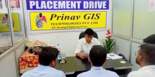 Interview in Prinav GIS Technologies Pvt. Ltd