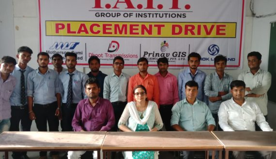 SELECTED STUDENTS OF ELECTRICAL AND CIVIL BRANCH