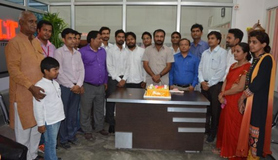 Great Anand Kumar (Super 30) with Faculty of IAIT