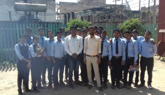 Training in Manduadih Power Station