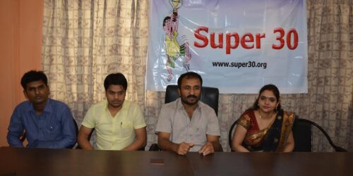 Anand Kumar Super 30 at IAIT Campus