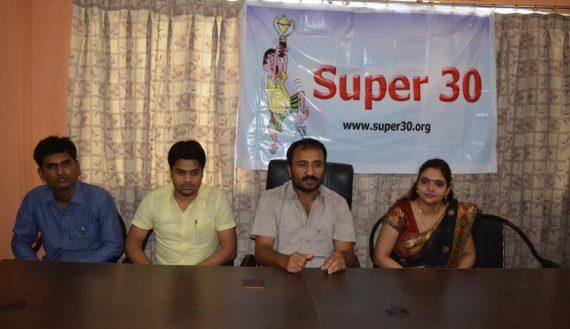 Anand Kumar Super 30 at IAIT Campus