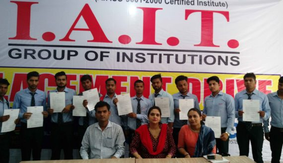 Students with Offer Letter