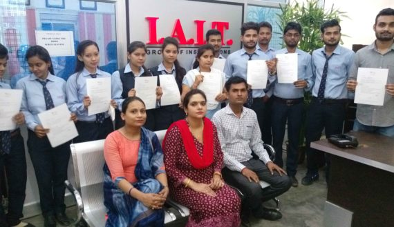 Students with Offer Letter Placement Drive 2018