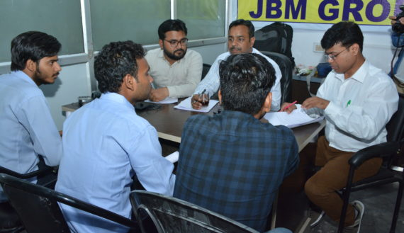 Interview in JBM Group